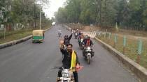 Tripura royal scion's activist forum completes 5,443 km long motorcycle campaign against CAA