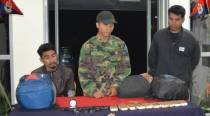 Three NLFT insurgents lay down arms, surrender in Tripura