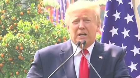 Donald Trump wishes Boris Johnson well; says Americans praying for his recovery