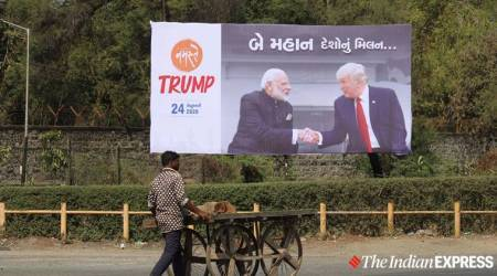 Donald Trump, Donald Trump India visit, US President Donald Trump, US President India visit, Donald Trump India, Donald Trump in India, India news, Indian Express