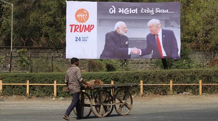 Donald trump, Donald Trump India visit, Narendra Modi Donald trump bilateral meet, Modi trump meeting, Modi Trump roadshow, india us trade deal, india us ties