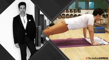 tusshar kapoor, workout
