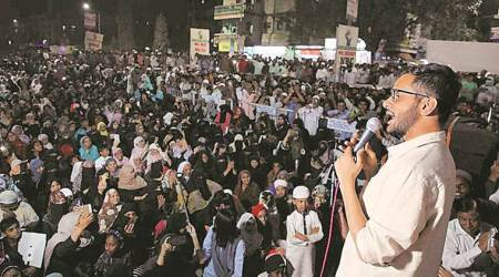 Shaheen Baghs linked by wire, one touching it will 'experience current': Umar Khalid in Pune