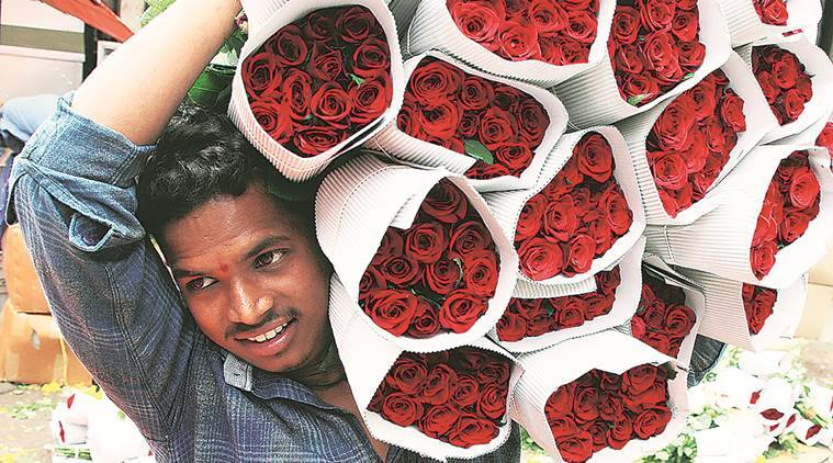 Valentines day, Pune news, Valentines day celebration pUne, economic decline pune, Pune florists, indian express