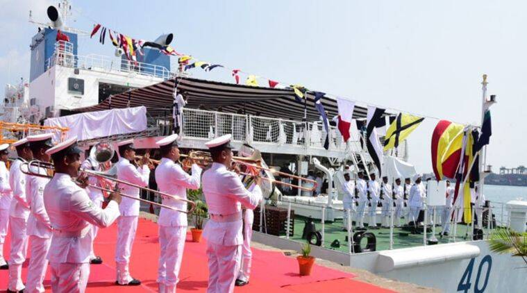 Shipping Minister launches Indian Coast Guard's latest patrol vessel 'Varad' in Chennai