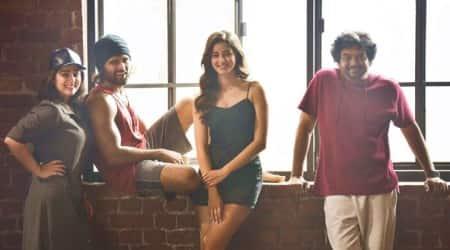 Vijay Deverakonda bollywood debut with Ananya Panday