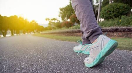 walking, benefits of walking, walking and weight loss, walking, indian express news