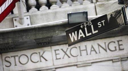 Wall Street, Wall Street coronavirus, coronavirus Wall Street, Dow Jones, Wall Street Dow Jones, US stock markets, US markets, World markets, Indian Express