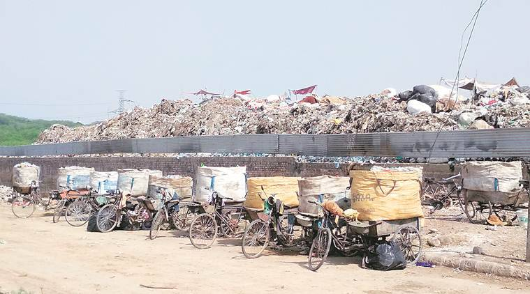 Integrated waste management project postponed, Integrated waste management, Dumping ground in panchkula, chandigarh news, city news, indian express