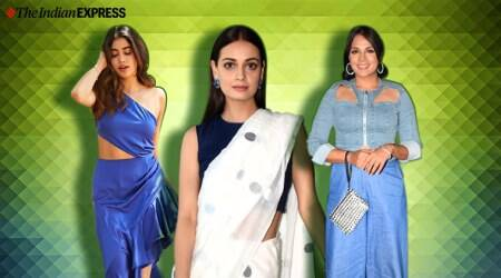 Janhvi Kapoor, Dia Mirza, Richa Chadda, fashion hits and misses, best fashion looks, bollywood fashion, indian express news