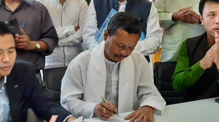 Manipur 'Maharaja rajya sabha nomination, rajya sabha polls manipur, manipur bjp rajya sabha seat, latest news, indian express