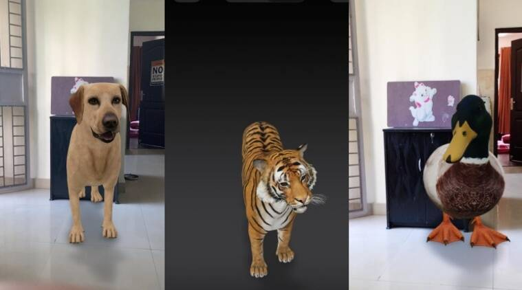 How to watch Google 3D tiger, duck, dog and other animals in your room