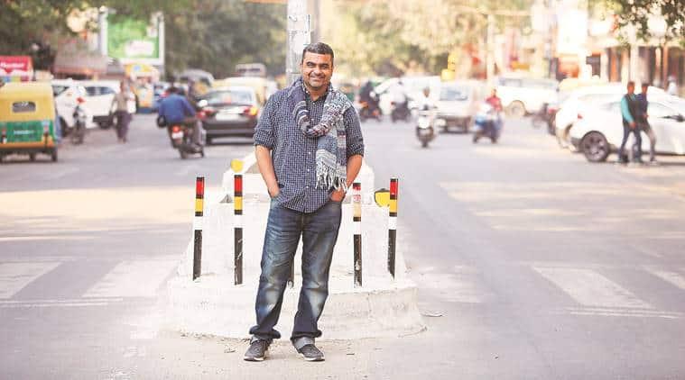 Poet Akhil Katyal, Delhi Poems, Humayun's Tomb, Lodhi Gardens, indian express talk, indian express news
