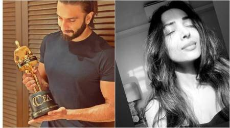 Celebrity social media photos: Ranveer Singh, Hina Khan, Malaika Arora and others