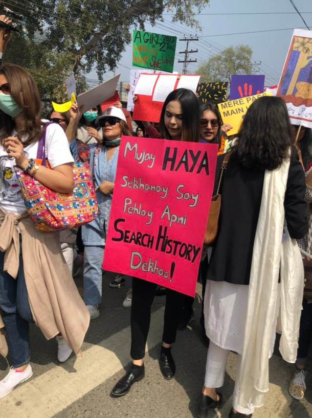 International Women's Day, Aurat March, Islamabad, Pakistan, Aurat March in Pakistan, Indian Express, Indian Express news