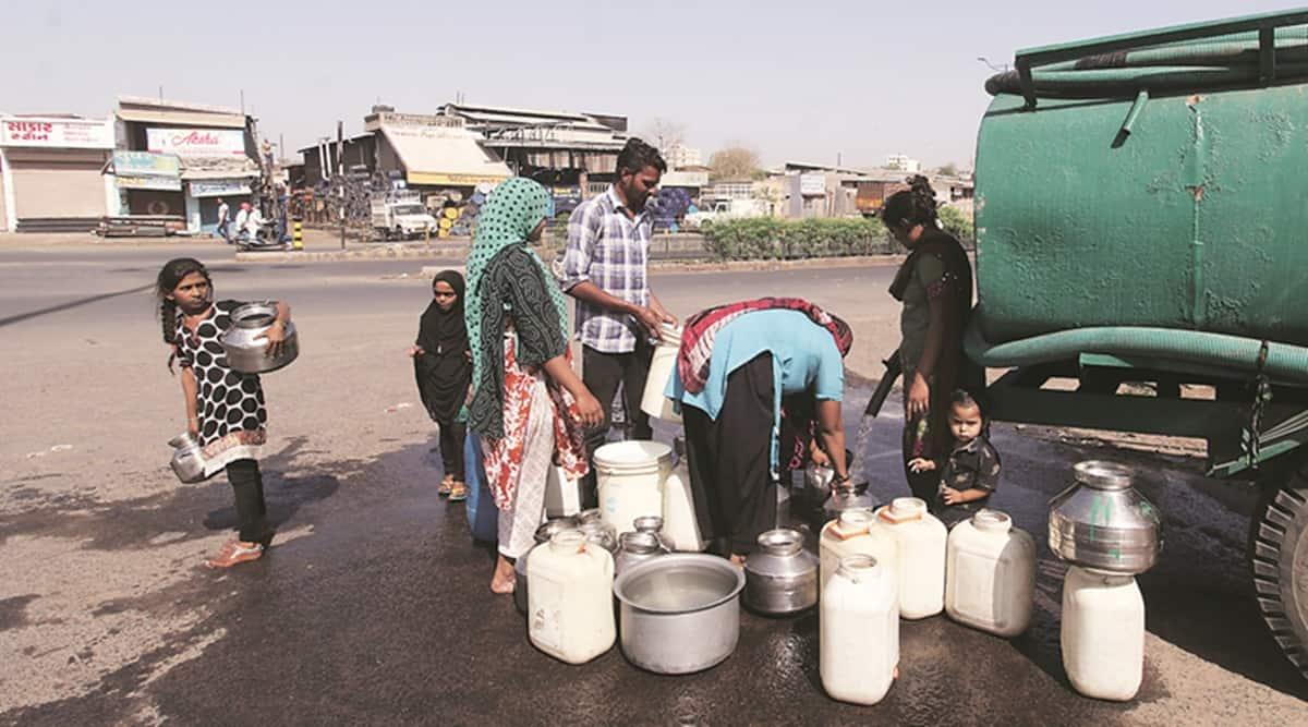 Gujarat death, AMC, India lockdown, coronavirus outbreak, Ahmedabad news, indian express news