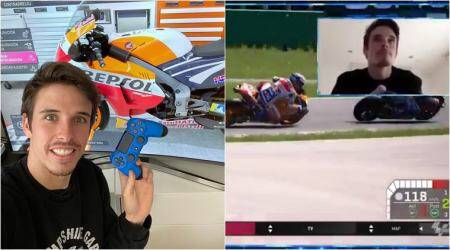 Alex Marquez, Alex Marquez MotoGP, Alex Marquez esports, coronavirus effect on motor sports