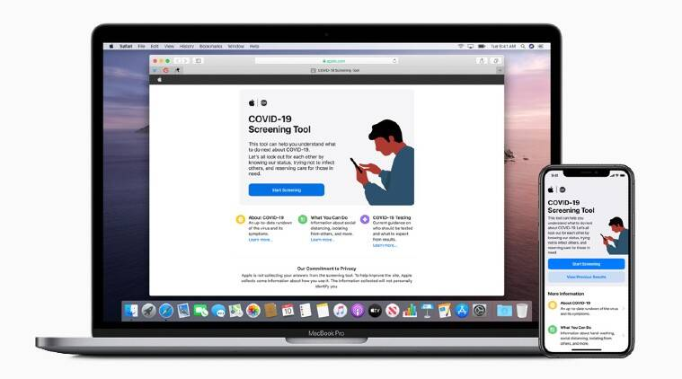 Apple develops Covid-19 self-screening tool: Here's how to use
