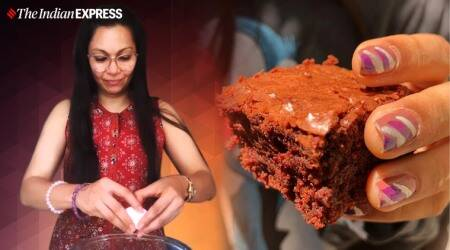 maria goretti, maria goretti recipes, indianexpress.com, indianexpress, beetroot brownie, beetroot brownie recipe, how to make a brownie, maria goretti lockdown, lockdown cooking, baking recipes,