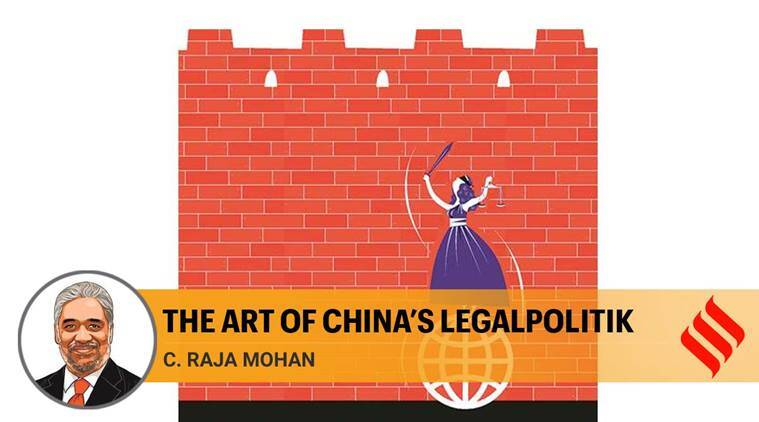 Winning the legal argument, China has learnt from history of great power relations