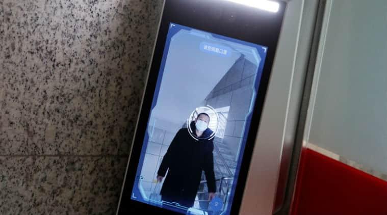 Coronavirus, China Coronavirus, China Facial Recognition, Facial recognition with mask, Facial recognition technology