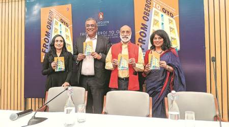 India's hotel industry, From Oberoi to Oyo book launch, Chitra Narayanan, Indian express talk, indian express news