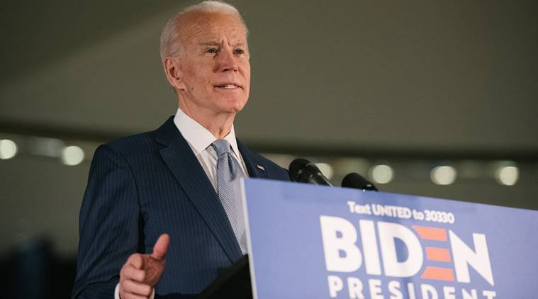 Joe Biden, Joe Biden sexual assault case, sexual assault case against Joe Biden, Tara Reade, Tara Reade Joe Biden, Joe Biden Tara Reade, World news, Indian Express