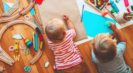 DIYs, easy DIYs, easy DIYs for kids and parents, things to do when children are at home, keeping children busy, parenting, indian express, indian express news