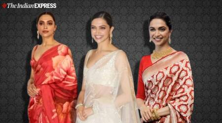 Having a bad day? Here are some pictures of Deepika Padukone in saris