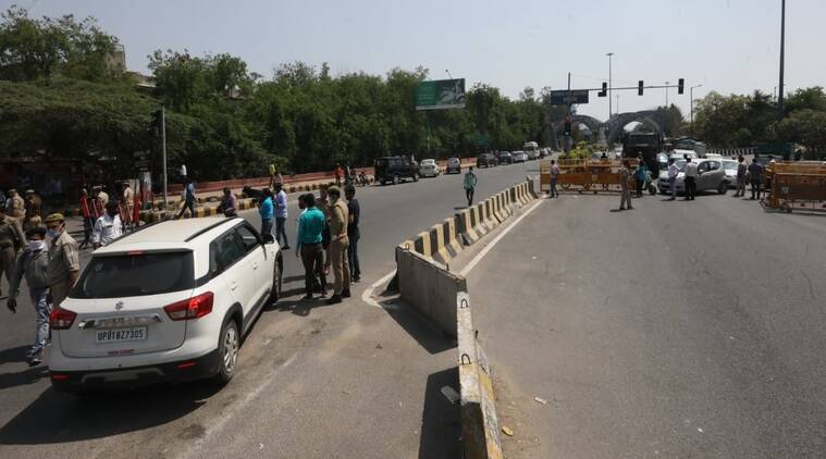 Delhi Noida Border sealed.