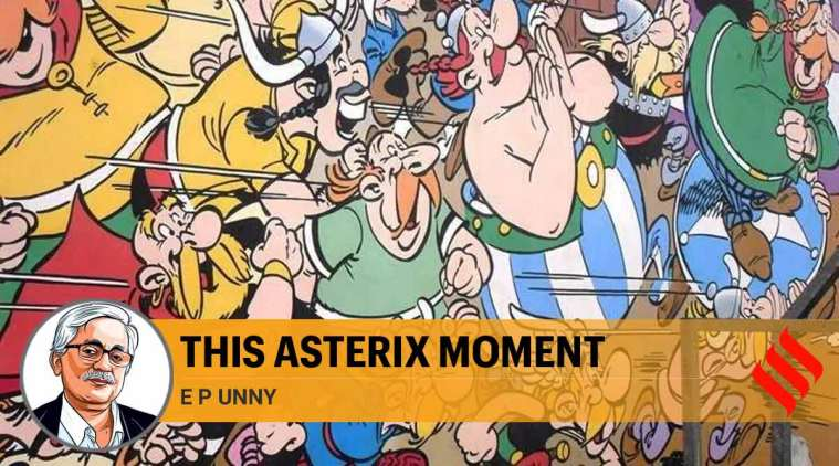 This Asterix moment: The world that came alive in the lines of Albert Uderzo speaks to us today