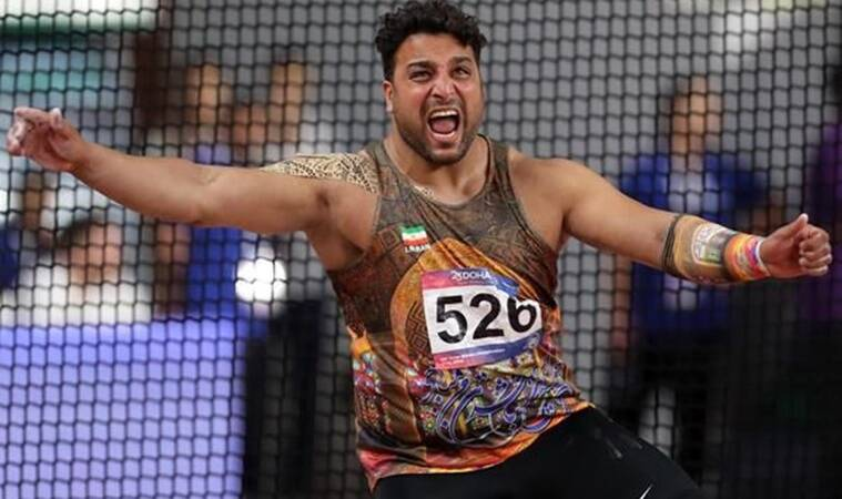 Olympic silver medalist Ehsan Hadadi tests positive for coronavirus