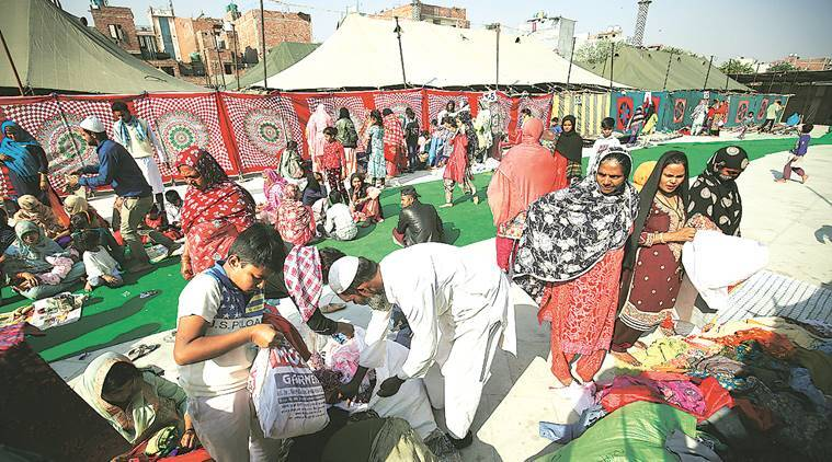 Eidgah relief camp victims to get help with food, medicine: Delhi govt to HC