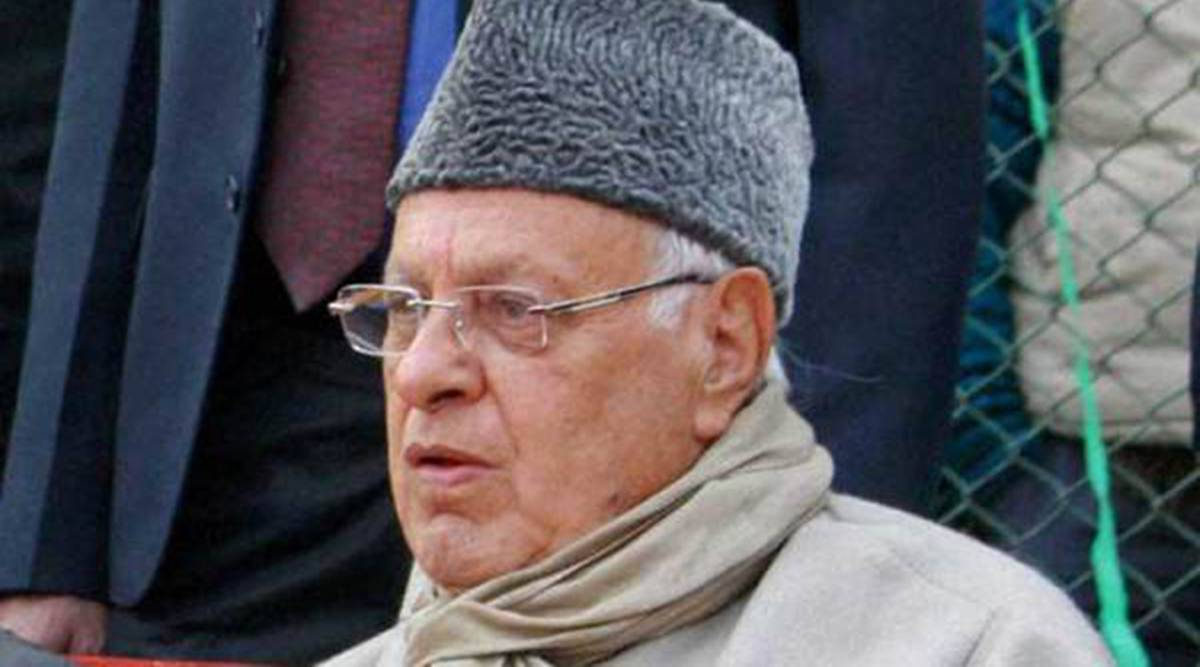 Farooq Abdullah, National Conference, political affairs committee, J&K bifurcation, Indian express news