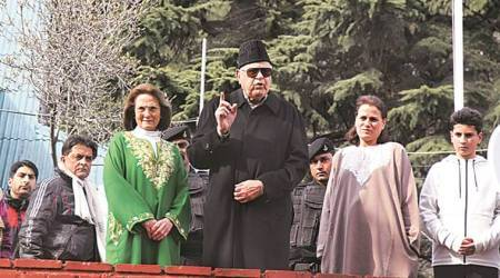 Farooq Abdullah released, Public Safety Act, leaders detained under PSA, Jammu and Kashmir news, indian express news