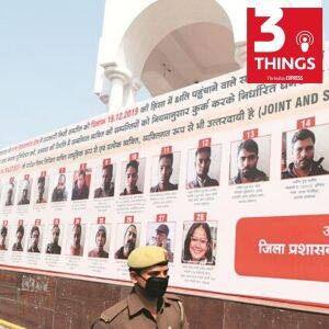 HC on anti-CAA protester's hoardings in UP, the ban on two news channels, Sensex falls