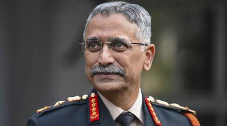 Indiam army, Blockchain technology, lasers weapon technology, Army chief MM Naravane, Indian express