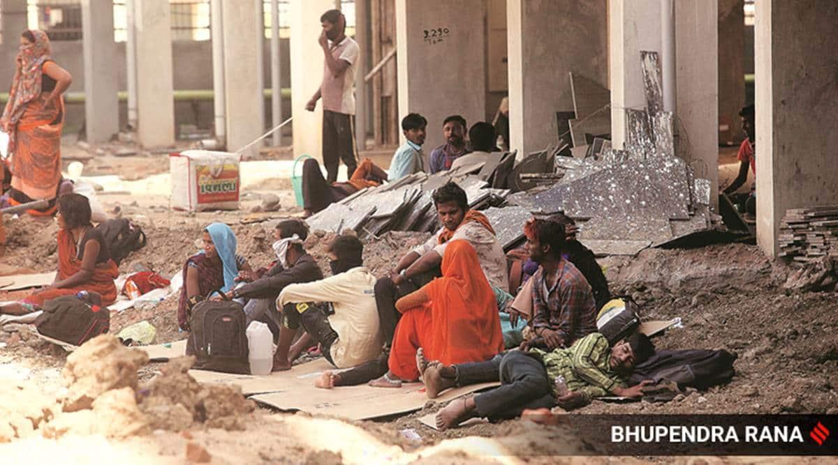novel Coronavirus, covid-19, migrant workers, India lockdown, maharashtra news, indian express news