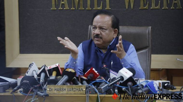 Health Minister Dr Harsh Vardhan interview on coronavirus outbreak ...