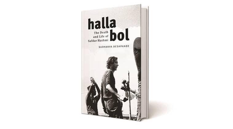 Book on Safdar Hashmi, Emergency period, Sikhs riot, Halla Bol, indian express news