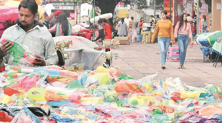 coronavirus outbreak, cases in India, Holi celebrations, sale of Chinese products, chandigarh news, indian express news