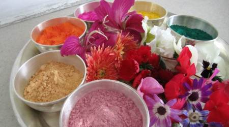 Holi, Holi colours, Holi natural colours, natural colours for kids on Holi, parenting, indian express, indian express news