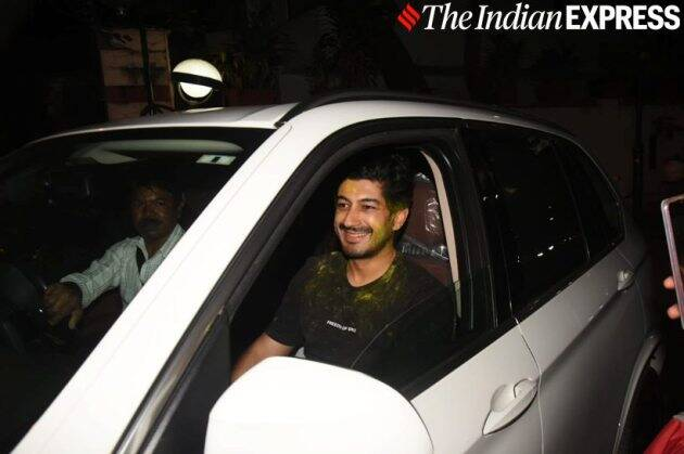 mohit marwah at aarti shetty holi party