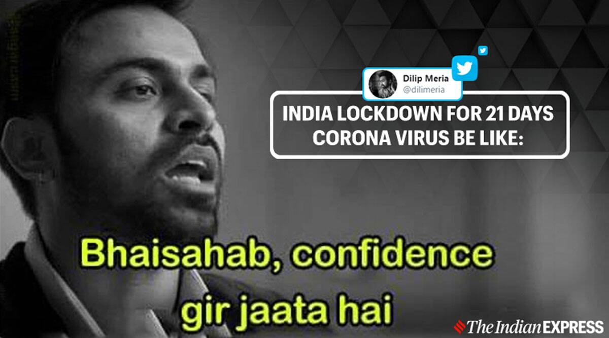 As 21 Day Lockdown Starts India S Netizens Find Solace In Memes