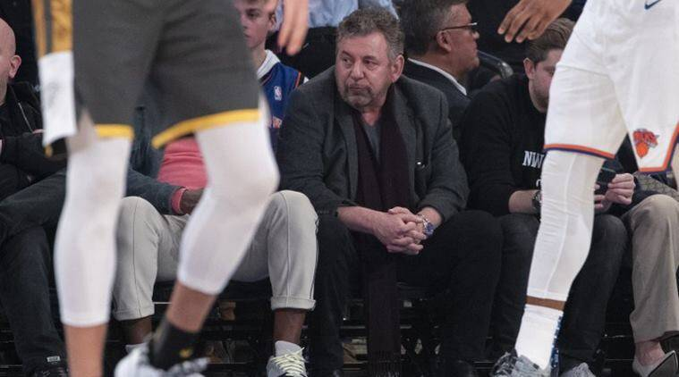 New York Knicks owner, MSG chairman James Dolan has coronavirus