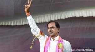 Telangana CM inaugurates Kondapochamma Reservoir in Siddipet