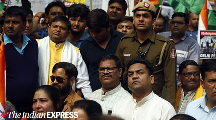 kapil mishra, kapil mishra goli maaro slogan, kapil mishra rally, kapil mishra jantar mantar rally, delhi violence, delhi city news
