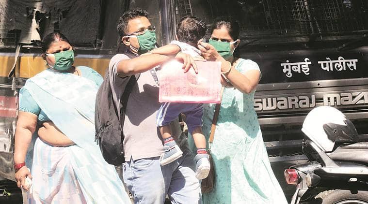 coronavirus cases, Kasturba hospital isolation ward, mumbai news, maharashtra news, indian express news