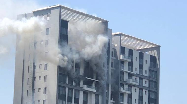 Fire breaks out at 17th floor of Kolkata building, 10 engines rushed to spot