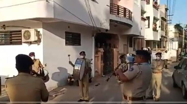 Gujarat Police seeks community support for ensuring lockdown